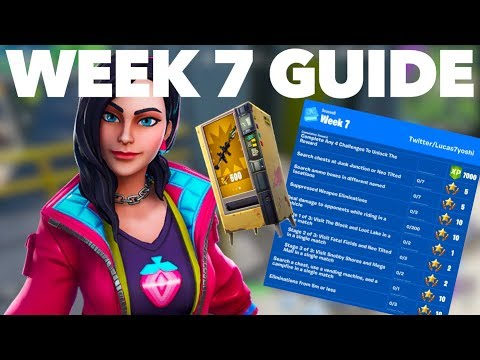How To Complete The Season 9 Week 7 Challenges FAST In Fortnite Season 9 | Week 7 Challenge Guide