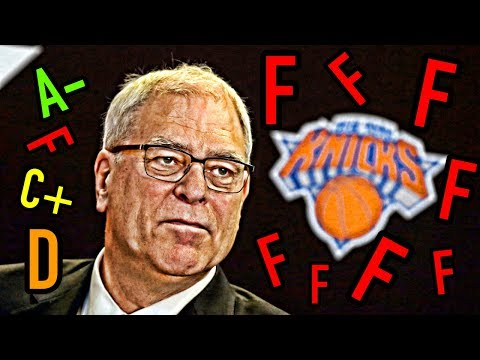 Why the Knicks Fired Phil Jackson: Grading all of his decisions!