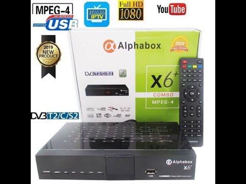 Cara Setting & Scan Siaran MYTV serta NINMEDIA Dengan Alphabox X6+ 2019