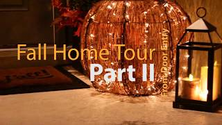 2017 Fall Home Tour Part 2 - Front Door Entry