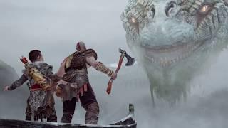 God of War 4. Прохождение 5 часть. Классный змей