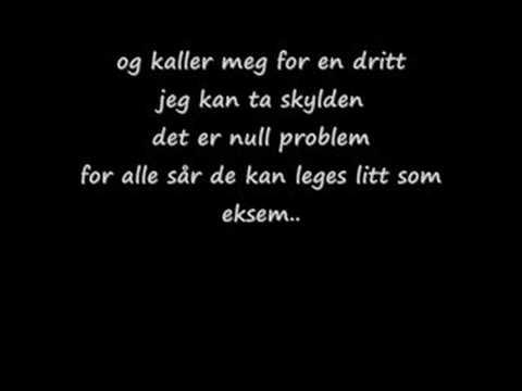 Erik og Kriss - Det e'kke meg det er deg (lyrics)