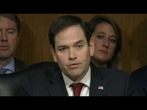 Rubio probes Tillerson's beliefs on Russia during hearing