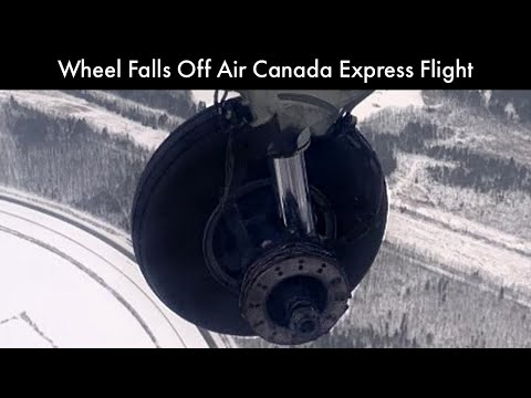 Tony Mott -  Wheel Falls Off Air Canada Express Flight