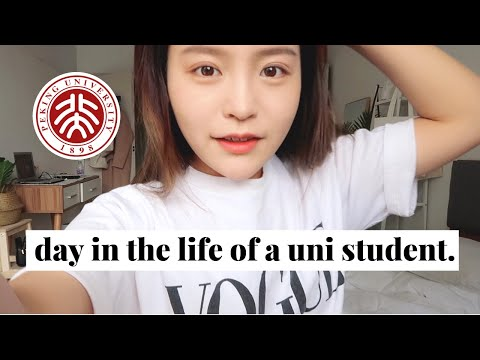 Day in the Life of a University Student | Peking University | Beijing, China