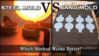 Which Coin Casting Method Works Better? - Steel Mold VS Sand Mold