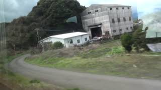 JR日豊本線  車窓  杵築駅~亀川駅(883系0番台ソニック特急)130km/h運転!!