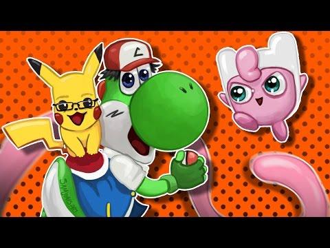 Super Smash Bros Wii U - The Battle of The Pokemon!