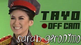 Sarah Geronimo - TAYO (Off cam scenes)