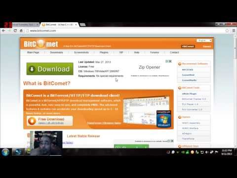 How to download Torrents (movies, music. etc.)