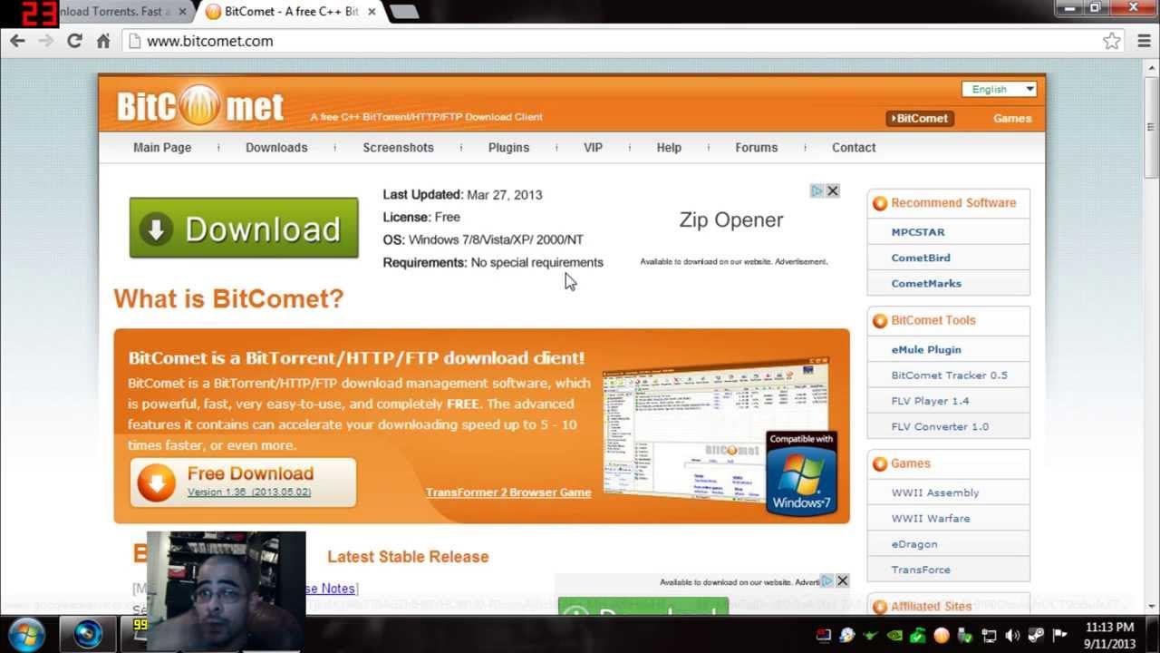 bitcomet 2013 gratuit
