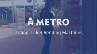 Using Ticket Vending Machines (TVMs)