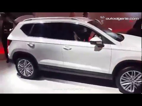 barcelone le nouveau suv de seat ateca vu de pr s close up on seat new suv ateca youtube. Black Bedroom Furniture Sets. Home Design Ideas