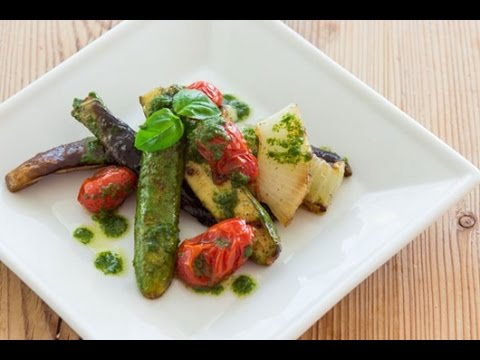 Salad Rau Củ Nướng Ratatouille