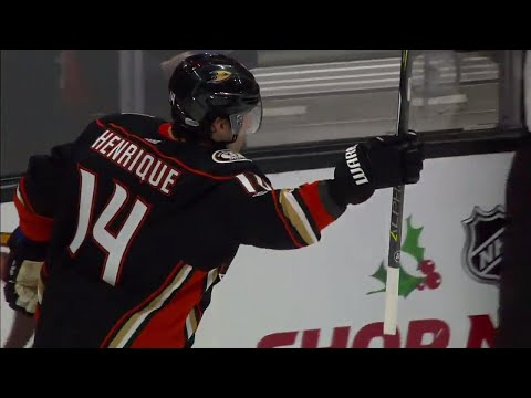 Henrique scores first as a Duck for real this time