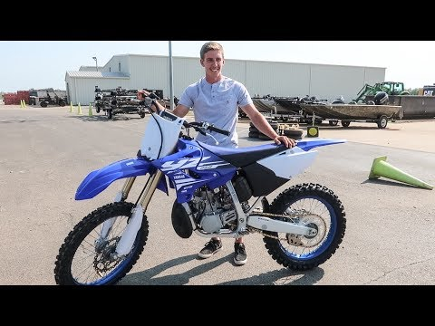 HE BOUGHT A BRAND NEW 2018 YZ250 2 STROKE!!!
