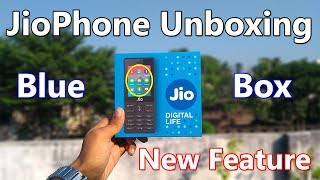 JioPhone Unboxing With Blue Box Facebook and YouTube Features