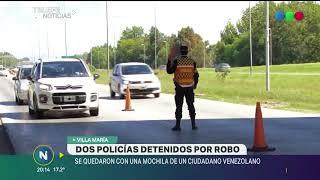 VILLA MARÍA DOS POLICÍAS DETENIDOS POR ROBO