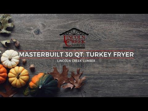 MASTERBUILT 30 Quart Turkey Fryer