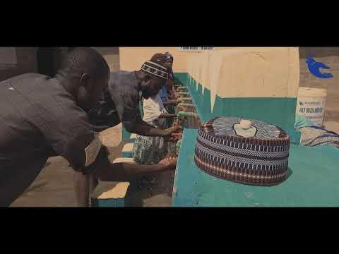 Ali Rıza Hünük 12 Çeşmeli Şadırvanlı Su Kuyusu Afrika Nijerya'da Açıldı!
