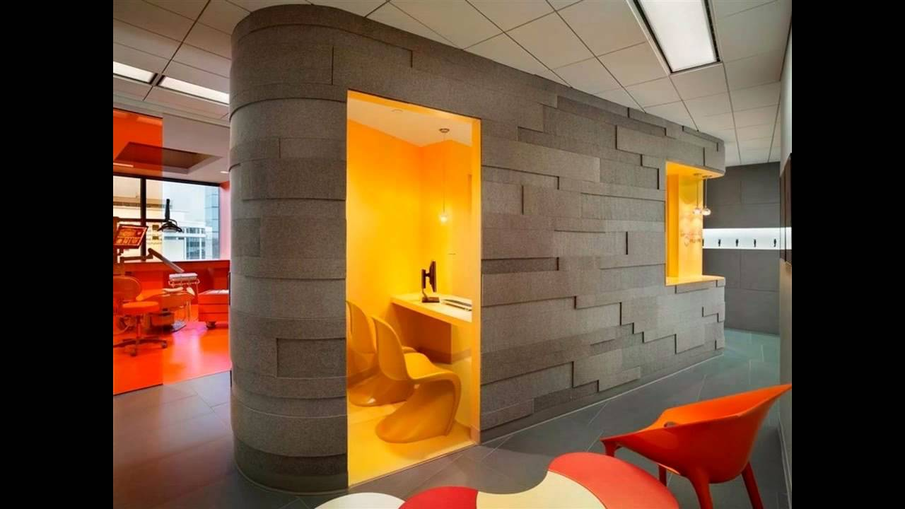 Image gallery office wall design Office interior decorating ideas pictures