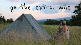 Camping-Backpacking off the Grid!