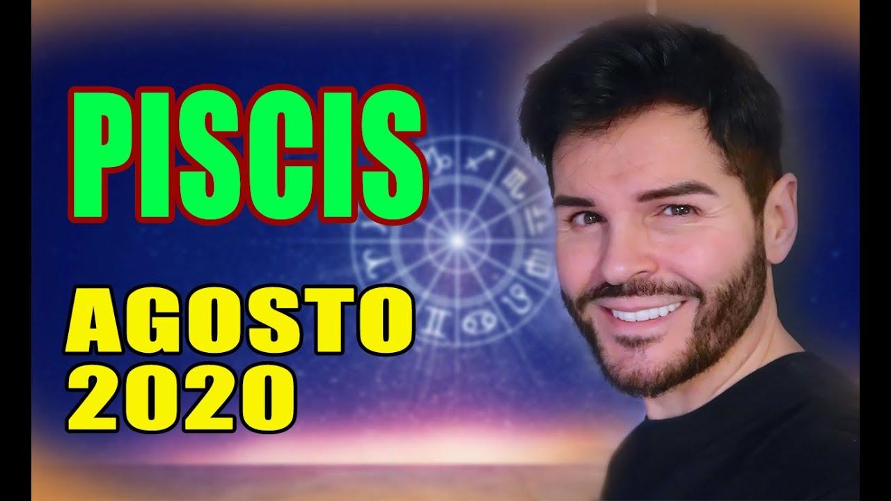 HORÓSCOPO AGOSTO 2020,PISCIS, MARCOS ALZIRA