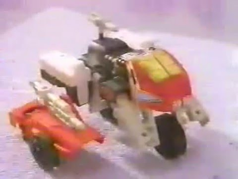 Transformers G1 Mega Pretenders Commercial 1989