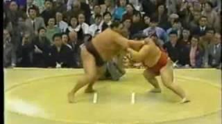 Kaio vs. Akebono : Haru 1994 (魁皇 対 曙)