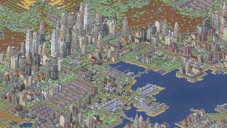 "SimCity 3000 Unlimited Realistic City ""Port Brownstone"""