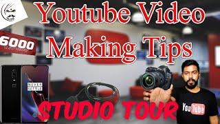 How to Increase Youtube Views fast|my youtube studio tour|Travel Tech Hari