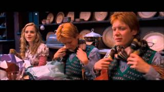 Harry Potter and the Order of the Phoenix christmas scene (HD)