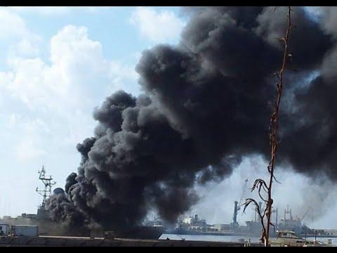 В Ливии взорван турецкий корабль с оружием!