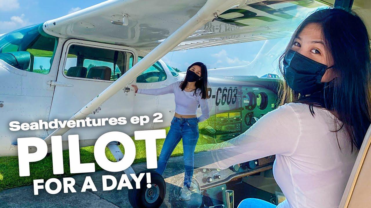 PILOT FOR A DAY!! (sobrang saya guys) |Chelseah Hilary