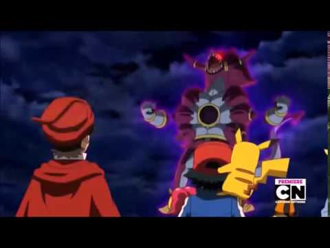 Hoopa and the Clash of Ages in 5 seconds