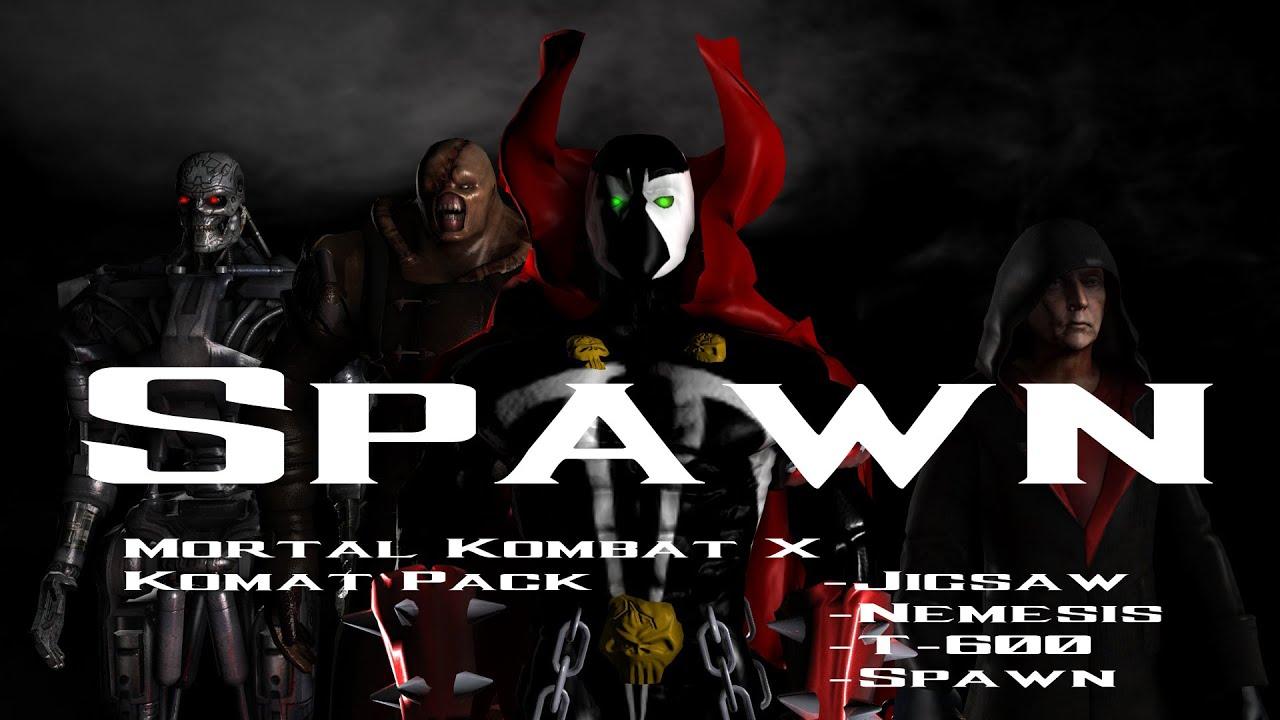 mortal kombat x spawn jigsaw nemesis t600 kombat
