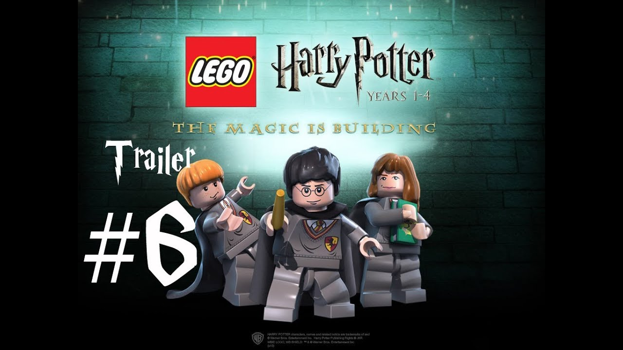 Harry Potter Half-Blood Prince / Halbblutprinz trailer Lego