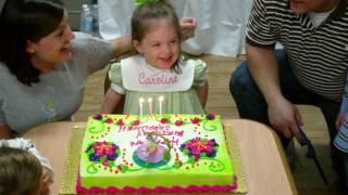 Happy 3rd Birthday, Caroline! (HD)