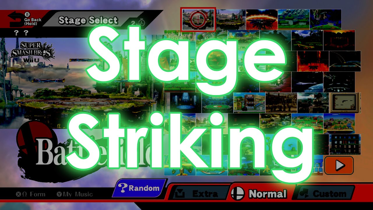 Smash Tournament - Counterpicking Stages and Rules