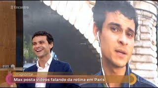 Max Petterson na Fátima Bernardes - 13/09/2017