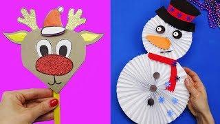 10 diy christmas | Christmas crafts for kids | 5 minute crafts christmas