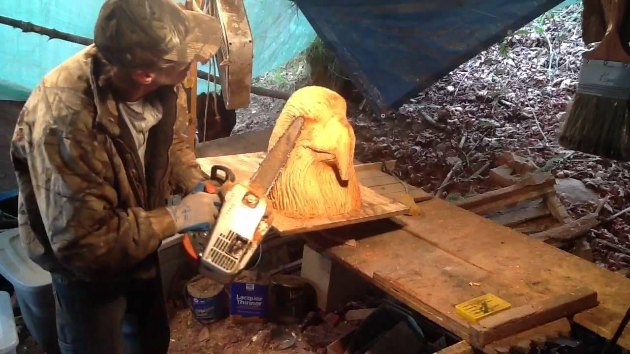 Carving an eagle head youtube