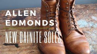 Allen Edmonds Restoration | Repair with Dainite Rubber Soles