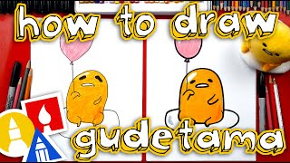 How To Draw Gudetama With A Balloon
