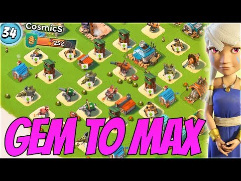 Boom Beach Diamond to Max Account! One Year Later!