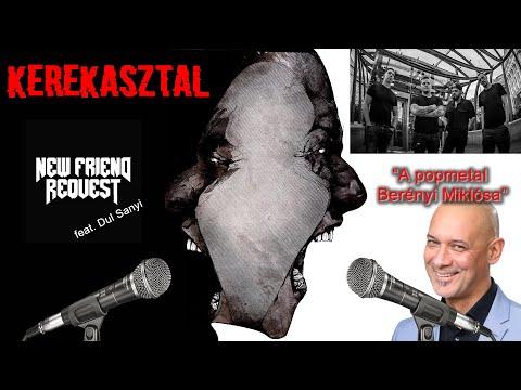 KEREKASZTAL - New Friend Request | Koncepciók és egy üveg bor