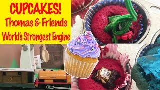 Thomas & Friends Cupcakes - World's Strongest Engine Thomas the Tank Engine