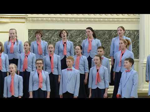 Старший концертный хор Детской хоровой капеллы Великого Новгорода