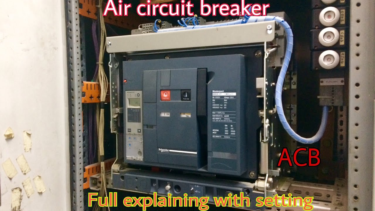 hight resolution of acb air circuit breaker full explains and setting tamil