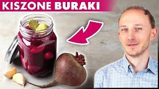 Pij sok z buraka kiszonego i popraw zdrowie! Właściwości zakwasu buraczanego | Dr Bartek Kulczyński